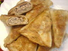 Нетрадиционные тонкие блинчики с мясом : Блины, блинчики, оладьи