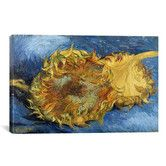 Shop for iCanvas Sunflowers by Vincent van Gogh Canvas Print Wall Art. Get free delivery On EVERYTHING* Overstock - Your Online Art Gallery Store! Painting Prints, Wall Art Prints, Canvas Prints, Vincent Van Gogh, Van Gogh Flowers, Van Gogh Prints, Sunflower Vans, Van Gogh Paintings, Flower Landscape