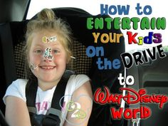 Here are some fun things for Things For Kids To Do In The Car To Disney World.
