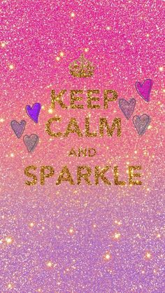 Keep calm wallpaper pink glitter ::pretty wallpapers:: обои. Sparkle Wallpaper, Pink Wallpaper, Cool Wallpaper, Wallpaper Backgrounds, Iphone Wallpapers, Screen Wallpaper, Rainbow Wallpaper, Pretty Backgrounds, Iphone Backgrounds
