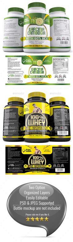 Organic Spirulina Powder Label Template http\/\/wwwdlayouts - abel templates psd