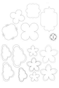 Shape for Cutting paper ~ Craft , handmade blog