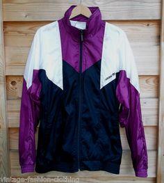 ADIDAS Shellsuit Tracksuit top 80s 90s vintage Jacket Shiny Nylon