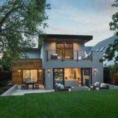 Modern House Plans, Modern House Design, Modern Interior Design, Home Design, Home Modern, Modern Homes, Modern Luxury, Modern Contemporary, Architecture Design