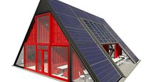 Shipping Container Architecture | Solar House #containerhome #shippingcontainer