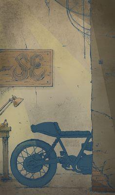 #design #motorcycles #motos | caferacerpasion.com