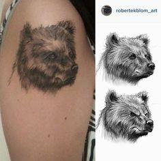 cool Top 100 bear tattoo - http://4develop.com.ua/top-100-bear-tattoo/