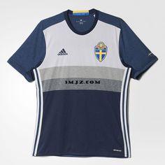 Nouveau Maillot Euro 2016 Suède Exterieur pas cher