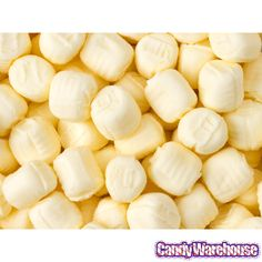Pastel Yellow Buttermint Creams: 5LB Carton