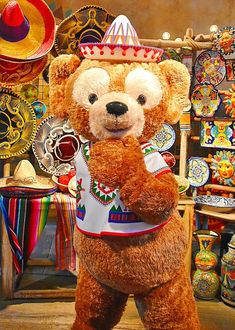 Disney Fan, Disney Stuff, Duffy The Disney Bear, Teddy Bear, Toys, Friends, Activity Toys, Amigos, Clearance Toys