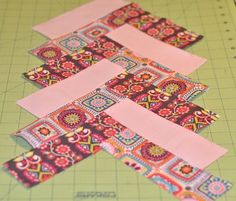 how to make a french braid quilt block