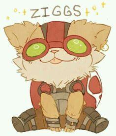 Ziggs. Cutie