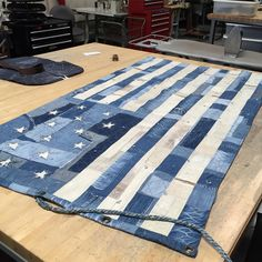 Blue Jean Quilts, Denim Quilts, Crafty Craft, Crafting, Picnic Blanket, Outdoor Blanket, Vintage Patches, Vintage Fabrics, Vintage Denim