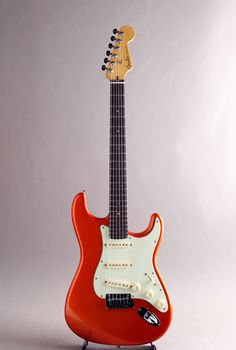 FENDER/USA[フェンダー/ユーエスエー] 「三木楽器大感謝セール出品予定品」American Deluxe Stratocaster Candy Tangerine 2003|詳細写真