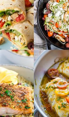 12 Easy Mediterranean Diet Friendly Recipes — Enjoying Simple - - The Mediterranean diet has been around for a while, but it's been drowned out by Keto, at least I think so. Mediterranean Diet Breakfast, Easy Mediterranean Diet Recipes, Mediterranean Dishes, Medditeranean Diet, Med Diet, Medeteranian Recipes, Healthy Recipes, Mediteranian Diet Recipes, Diet Meal Plans