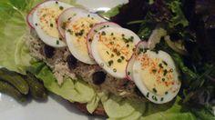 Herbed Tuna Slice