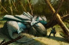 Dragon of Ravensford by AaronMiller on DeviantArt