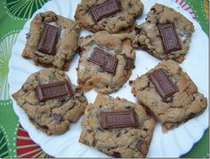 Chocolate Chip Smores Cookies....these are absolutely amazing!  To cut down on the work you can use store bought cookie dough instead of from scratch.