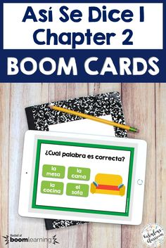 Make learning Spanish vocabulary fun with this BOOM Deck! These cards directly correspond to ALL of Spanish Teaching Resources, Spanish Language Learning, Teacher Resources, Homeschooling Resources, Classroom Resources, Teaching Ideas, Spanish Lesson Plans, Spanish Lessons, Spanish Games