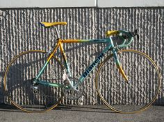 Marco Pantani's custom Bianchi from the Tour de France and Giro d'Italia 1998 (6.9kg/15.34 lb) !