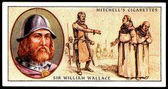 Cigarette Card - Sir William Wallace