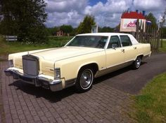 Lincoln Continental Towncar - 1978