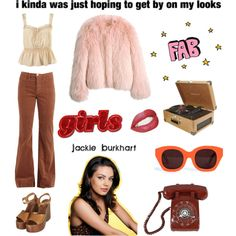 That '70s Show: Jackie Burkhart by barbiedollgrunge on Polyvore featuring мода, Topshop, Karen Walker, Crosley, Balenciaga and vintage