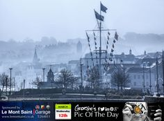 A misty & mysterious St Peter Port today. #LoveGuernsey  http://chrisgeorgephotography.dphoto.com/#/album/cbc2cr/photo/22062965  Picture Ref: 12_03_14 — at St. Peter Port, Guernsey.