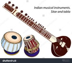 Find Indian Musical Instruments Sitar Tabla Vector stock images in HD and millions of other royalty-free stock photos, illustrations and vectors in the Shutterstock collection. Indian Musical Instruments, Music Instruments, Sitar Instrument, Hand Painted Dress, Indian India, Stick Art, Mini Canvas Art, Music Wall, Free Logo
