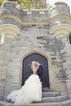 "wedding-scrap-book: "" Also Featured by Style Me Pretty (Sarah Kate Photographer) Gown by Vera Wang Casa Loma Toronto, Ontario "" Wedding Photoshoot, Wedding Pics, Wedding Couples, Trendy Wedding, Perfect Wedding, Wedding Gowns, Dream Wedding, Wedding Bells, Wedding Ideas"