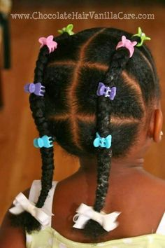 Hairstyles for toddlers and little girls