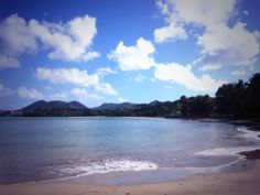 Rendezvous' stunning beach #StLucia #Sunswept