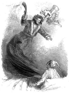 a christmas carol -- 1868 edition illustration
