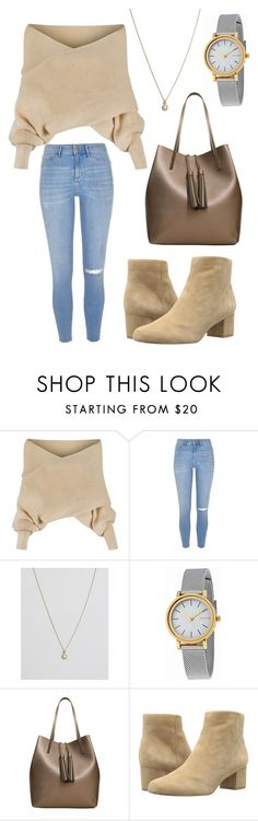 """Untitled #146"" by taylor-cook618 ❤ liked on Polyvore featuring WithChic, River Island, Orelia, Skagen, MANGO and Sam Edelman"