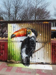 15 x kunst van afval · LINDA.