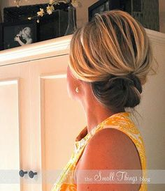 Lots of Ladies use this hairstyle for a wedding or on their wedding day
