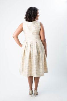 Upton Dress printed pattern - Cashmerette Patterns - 8