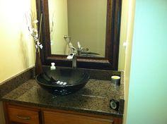Alpharetta, GA Bathroom Remodel-Atlanta Curb Appeal #Houzz Book
