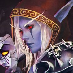 Sylvanas 'The Dark Lady' painting by MonoriRogue Banshee Queen, Ashe League Of Legends, Magic Realms, World Of Warcraft Characters, Character Art, Character Design, Sylvanas Windrunner, Warcraft Art, Dark Elf