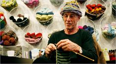 """TO THE POINT John Glover, appearing in the new production of """"Waiting for Godot,"""" practices his other craft on a smaller stage in a Greenwich Village shop."""