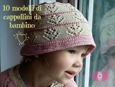 Lavori a maglia, 10 modelli cappellino   diLanaedaltrestorie