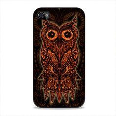 Aztec Owl iPhone 4, 4s Case