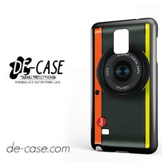 Orange Yellow Leica Camera For Samsung Galaxy Note 4 Case Phone Case Gift Present YO