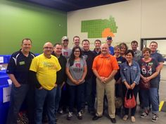 Steier Group volunteering at the Food Bank for the Heartland in Omaha, NE