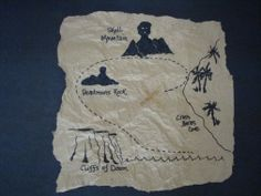 Make your own pirate map
