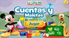La Casa de Mickey Mouse Cuentas y Maletas Juegos en Español Capitulos Completos