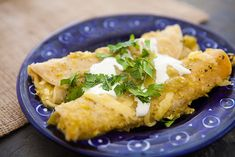 Green Chile Enchiladas from Simply Recipes