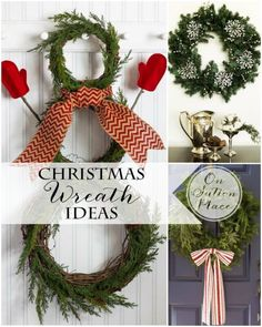 Festive Christmas Wreath Ideas | DIY tips and inspiration from On Sutton Place #spon
