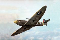 Spitfire Mk Vc. This one was operated by 303(Polish) squadron.