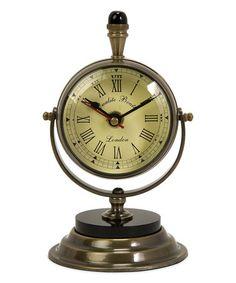 """Love this Soren Table Clock on #zulily! #zulilyfinds  7.5""""x4""""  $33"""